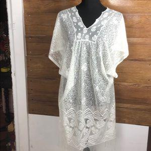 Beautiful  crochet swimwear cover up for women